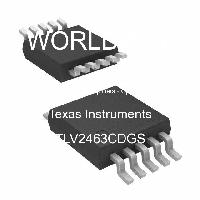TLV2463CDGS - Texas Instruments