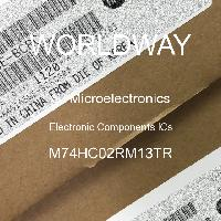 M74HC02RM13TR - STMicroelectronics - 電子元件IC