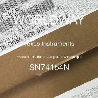 SN74154N - Texas Instruments - 编码器,解码器,多路复用器和多路复用器