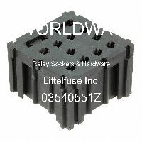 03540551Z - Littelfuse - 继电器插座和硬件