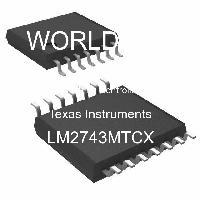 LM2743MTCX - Texas Instruments - 開關控制器