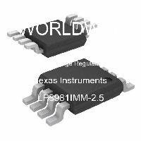 LP3981IMM-2.5 - Texas Instruments