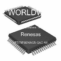 UPD78F0526AGB-GAG-AX - Renesas Electronics Corporation