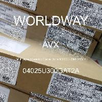 04025U300GAT2A - AVX Corporation - 多层陶瓷电容器MLCC - SMD/SMT