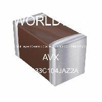 06033C104JAZ2A - AVX Corporation - 多层陶瓷电容器MLCC - SMD/SMT