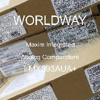 LMX393AUA+ - Maxim Integrated Products - 模擬比較器