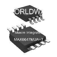 MAX6647MUA+T - Maxim Integrated Products
