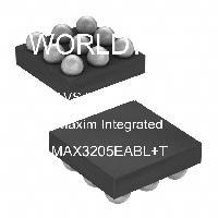 MAX3205EABL+T - Maxim Integrated - TVS二極管陣列