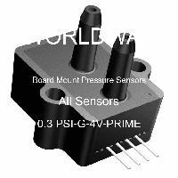 0.3 PSI-G-4V-PRIME - All Sensors - 板上安装压力传感器