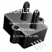 0.3 PSI-G-4V-MIL - All Sensors - 板上安装压力传感器