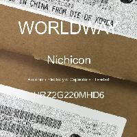 URZ2G220MHD6 - Nichicon - 铝电解电容器 - 含铅