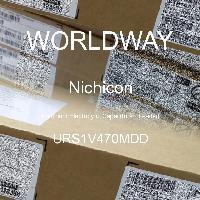 URS1V470MDD - Nichicon - 铝电解电容器 - 含铅