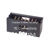 5-102619-5 - TE Connectivity AMP Connectors - 集管和線殼