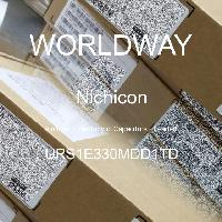 URS1E330MDD1TD - Nichicon - 铝电解电容器 - 含铅