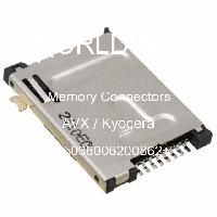 045036006200862+ - Kyocera Electronic Components & Devices - 内存连接器