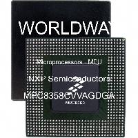 MPC8358CVVAGDGA - Freescale Semiconductor - 微處理器 -  MPU
