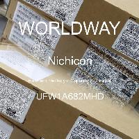 UFW1A682MHD - Nichicon - 铝电解电容器 - 含铅