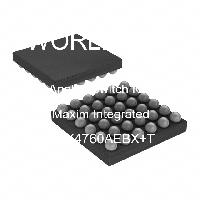 MAX4760AEBX+T - Maxim Integrated Products