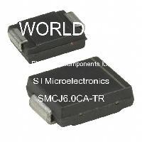 SMCJ6.0CA-TR - STMicroelectronics - 電子元件IC