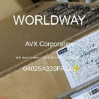 04025A330FAJ2A - AVX Corporation - 多層陶瓷電容器MLCC  -  SMD / SMT