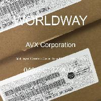 04025C122JAJ2A - AVX Corporation - 多層陶瓷電容器MLCC  -  SMD / SMT