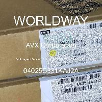 04025C331KAJ2A - AVX Corporation - 多层陶瓷电容器MLCC-SMD/SMT