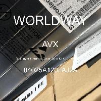 04025A120FAJ2A - AVX Corporation - 多層陶瓷電容器MLCC  -  SMD / SMT