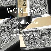 04025A510GAT2A - AVX Corporation - 多层陶瓷电容器MLCC - SMD/SMT