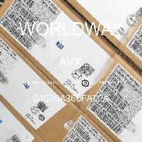 04025A360FAT2A - AVX Corporation - 多层陶瓷电容器MLCC - SMD/SMT