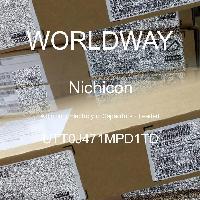 UTT0J471MPD1TD - Nichicon - 铝电解电容器 - 含铅