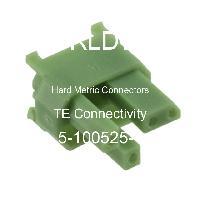 5-100525-4 - TE Connectivity - 硬公制連接器