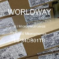 MP34DB01TR - STMicroelectronics - MEMS麥克風