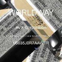 06035J0R7AAWTR - AVX Corporation - 多层陶瓷电容器MLCC-SMD/SMT