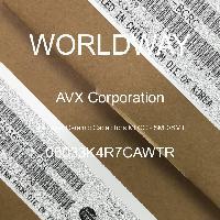 06033K4R7CAWTR - AVX Corporation - 多層陶瓷電容器MLCC  -  SMD / SMT