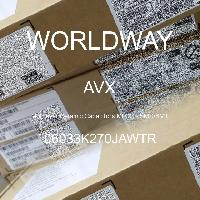 06033K270JAWTR - AVX Corporation - 多層陶瓷電容器MLCC  -  SMD / SMT