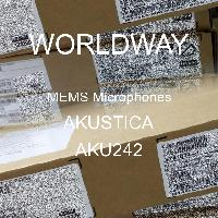 AKU242 - AKUSTICA - MEMS麥克風
