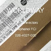 026-4027-000 - Amphenol FCI - XLR连接器