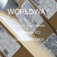 03801-0072-0001 - Amphenol FCI - 环形MIL规格连接器