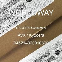 046214020010800 - AVX Corporation - FFC和FPC连接器