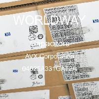 04025A331GAT2A - AVX Corporation - 电容器