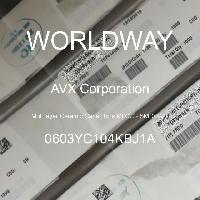 0603YC104KBJ1A - AVX Corporation - 多层陶瓷电容器MLCC-SMD/SMT