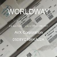 0508YC104KAJ2A - AVX Corporation - 多层陶瓷电容器MLCC-SMD/SMT