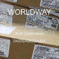 04025A220GAJ2A - AVX Corporation - 多層陶瓷電容器MLCC  -  SMD / SMT