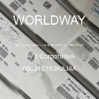 06031C182KAJ4A - AVX Corporation - 多层陶瓷电容器MLCC-SMD/SMT