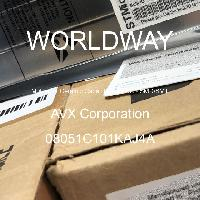 08051C101KAJ4A - AVX Corporation - 多層陶瓷電容器MLCC  -  SMD / SMT