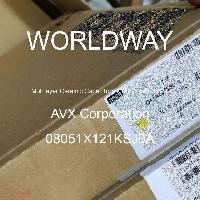 08051X121KSJ9A - AVX Corporation - 多层陶瓷电容器MLCC-SMD/SMT