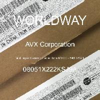 08051X222KSJ9A - AVX Corporation - 多層陶瓷電容器MLCC  -  SMD / SMT