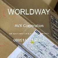 08051A121JAJ2A - AVX Corporation - 多層陶瓷電容器MLCC  -  SMD / SMT