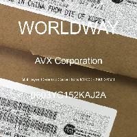 0603YC152KAJ2A - AVX Corporation - 多層陶瓷電容器MLCC  -  SMD / SMT