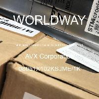 08051X102KSJME/1K - AVX Corporation - 多層陶瓷電容器MLCC  -  SMD / SMT
